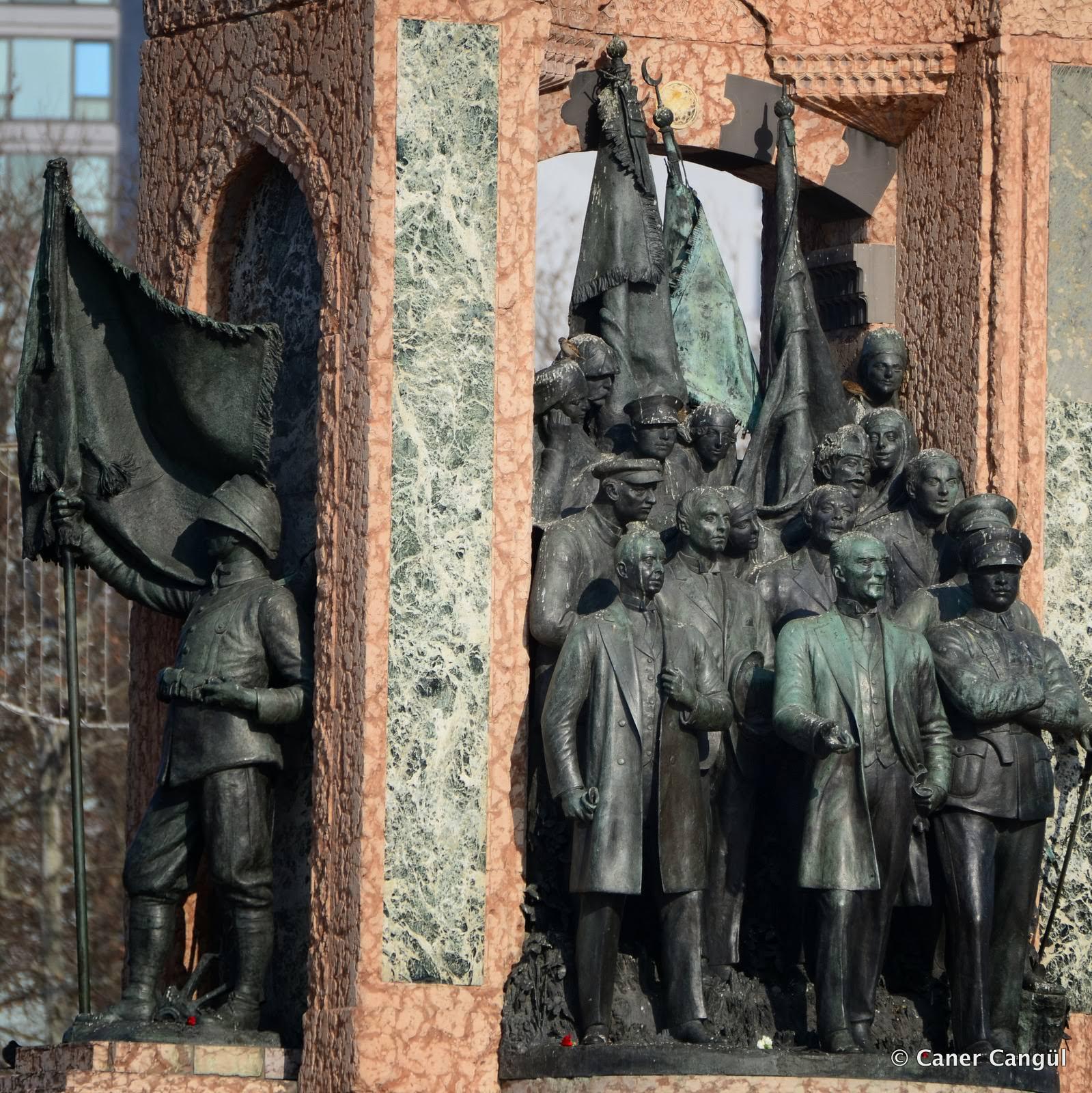 Anıtlar - insanlardan minnettarlık