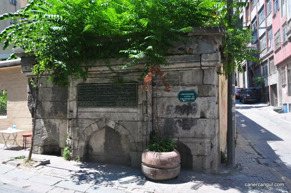 Mihrişah Kadın Çeşmesi, Galata