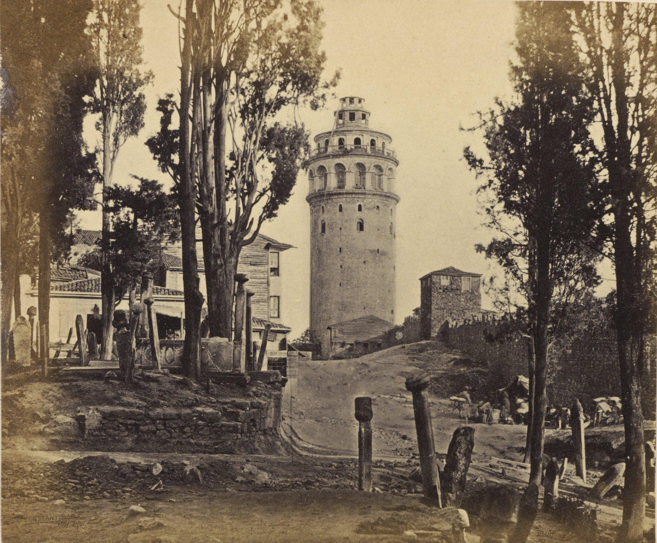 galata kulesi eski resimleri ile ilgili görsel sonucu