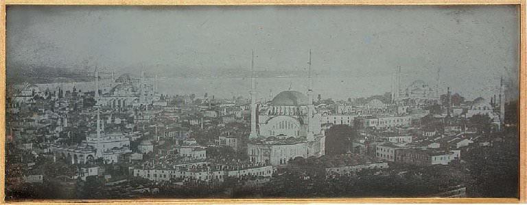 Beyazıt Kulesi'nden, 1843 / Joseph-Philibert Girault de Prangey