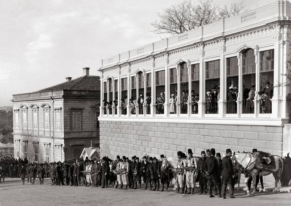 Yıldız Sarayı Seyir Köşkü, 1900 / Fotoğraf: Ali Sami Aközer