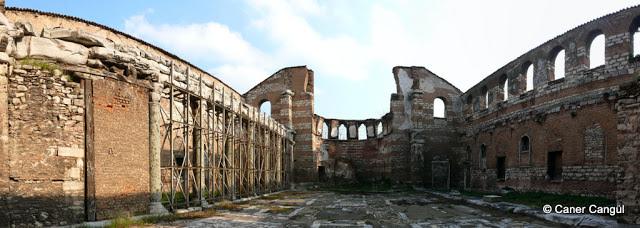 İmrahor Camii İç Panoramik Görünümü