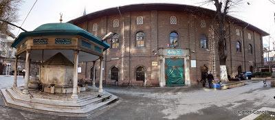Panoramik Arap Camii ve Şadırvan