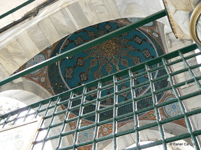 Lala Mustafa Paşa Türbesi Pandantiflerinde Süleyman Mührü, Eyüp