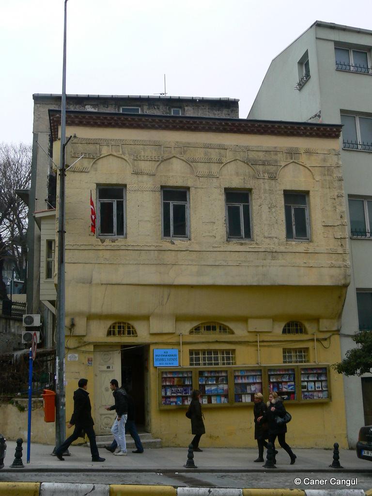 Yusuf Ağa Sıbyan Mektebi, Babıali