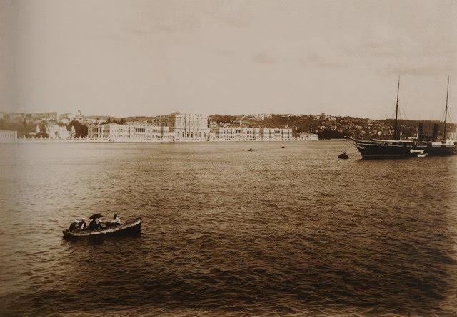 Sebah & Joaillier Fotoğrafında 1880'lerdeki Silüet