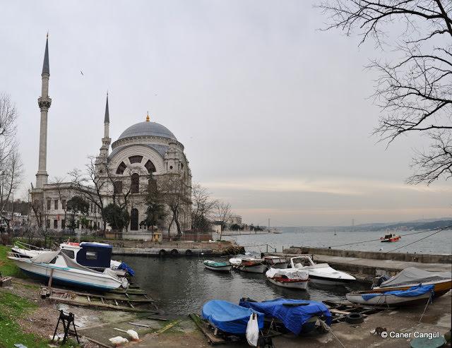 Dolmabahçe Camii Görünümü