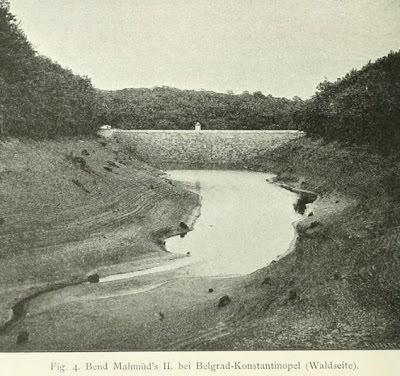 Sultan Mahmut Bendi Gölet Alanı Eski Fotoğrafı