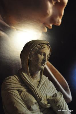 Baebia'nın Heykeli Magnesia Ad Maeandrum (Menderes Manisası Athena Tapınağı Kazısından) Geç Helenistik Dönem. MÖ 1. YY ortaları