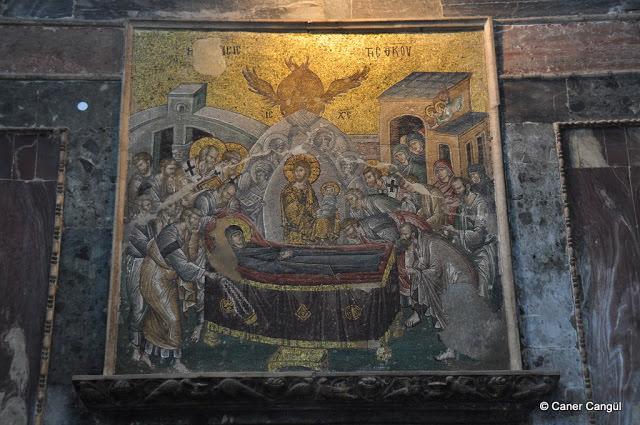 Meryem'in Son Uykusu ya da Meryem'in Ölümü Mozaiği