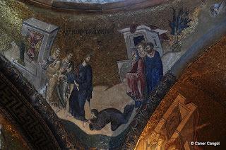 İsa'nın İki Körü İyileştirmesi Mozaiği