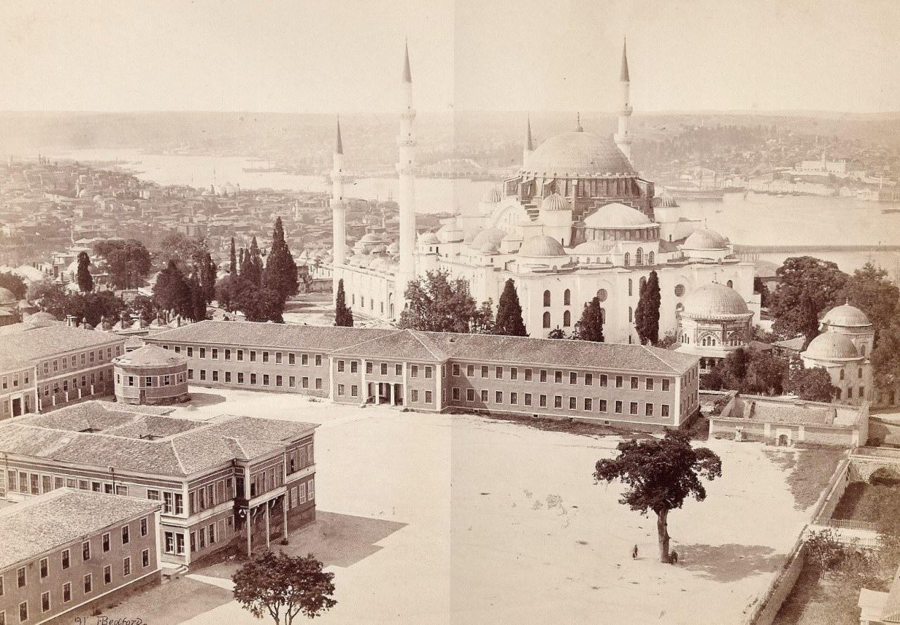Beyazıt Kulesi'nden / Francis Bedford / 24 Mayıs 1862